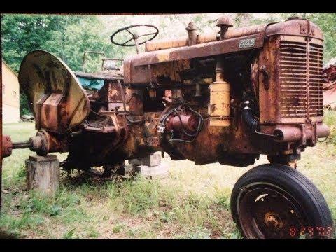 Minneapolis-Moline Prototype 445 Tractor #X231 Restoration - Part 1