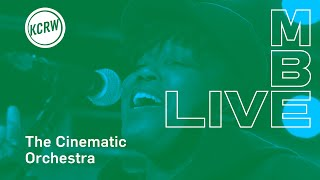 """The Cinematic Orchestra performing """"Wait for Now / Leave the World"""" Live on KCRW"""