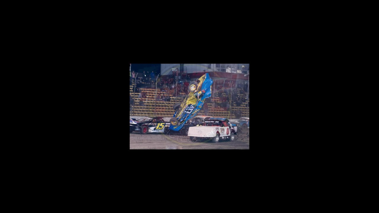 0 Apr Car >> Kevin Anderson Stock car Flip @ lakeside speedway - YouTube