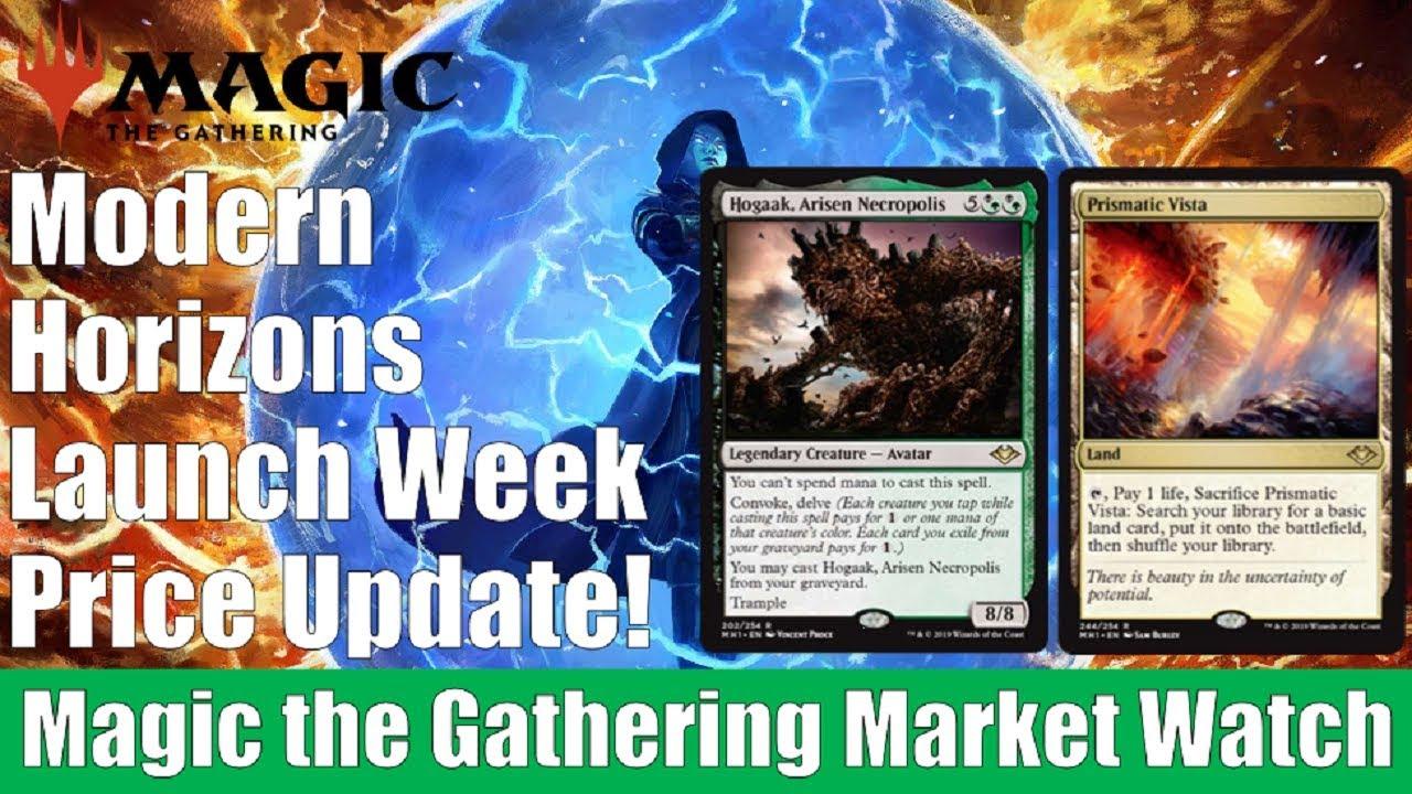 MTG Market Watch: Modern Horizons Launch Week Card Price Update