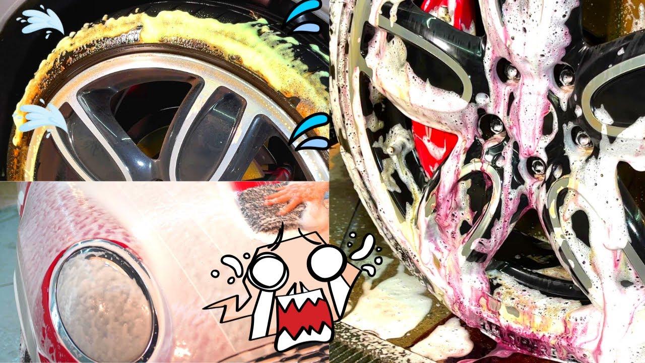 新車の輝きを再び!ミニ・ジョン・クーパー・ワークスを洗車します。 BMW Mini john-cooper-works satisfying detailing