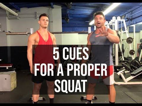 Never Do Another Bad Squat Again | 5 Cues To A Proper Squat