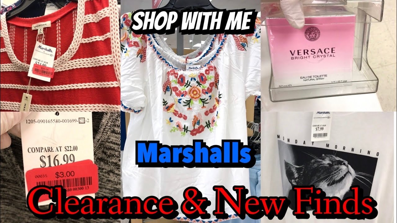 MARSHALLS SHOP WITH ME CLOTHES CLEARANCE & NEW FINDS