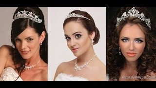 видео Как подобрать свадебные серьги для невесты? Выбор сережек под платье и прическу