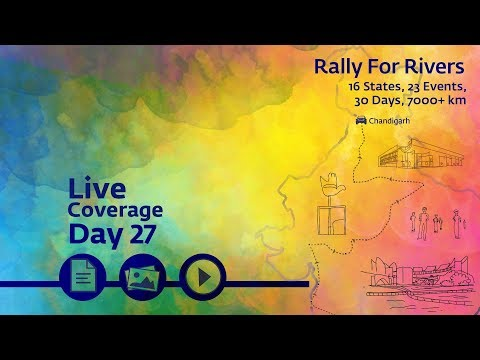 Rally for Rivers - Day 27 - Chandigarh