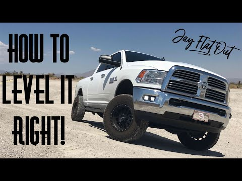 DO NOT Level Your Truck Before Watching This! Jay Flat Out