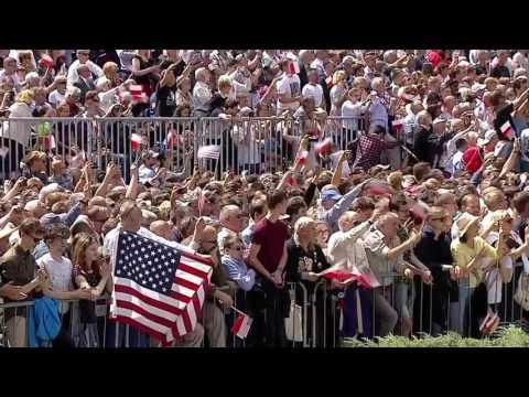 Watch President Trump's full speech in Warsaw