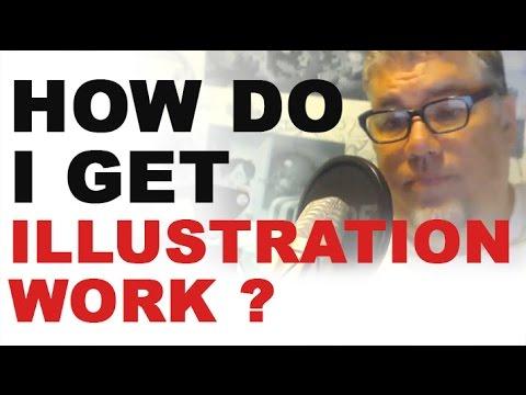 I Just Finished Art School - How Do I Get Illustration Work?