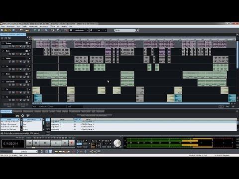 MAGIX Samplitude Music Studio 2016  – Einführungsvideo Tutorial (DE)