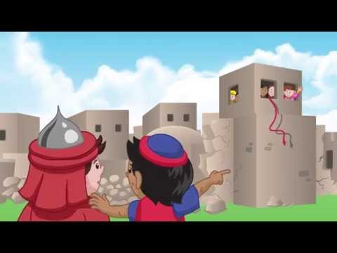 Rahab - Little Bible Heroes animated children's stories