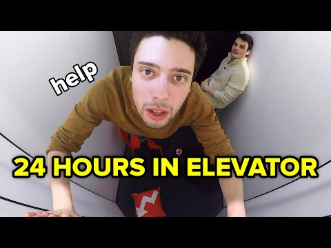 Savio On Air -  24 Hours In An Elevator!! By Choice??