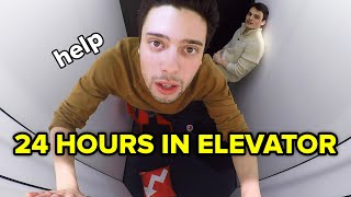 I Spent 24 Hours Straight In An Elevator