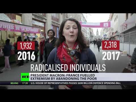 France fueled extremism by abandoning poor – Macron