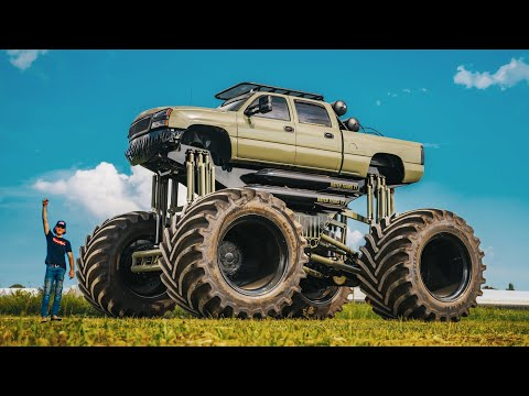 Introducing Monstermax 2. The Worlds Largest Truck (Twin Engine Duramax)