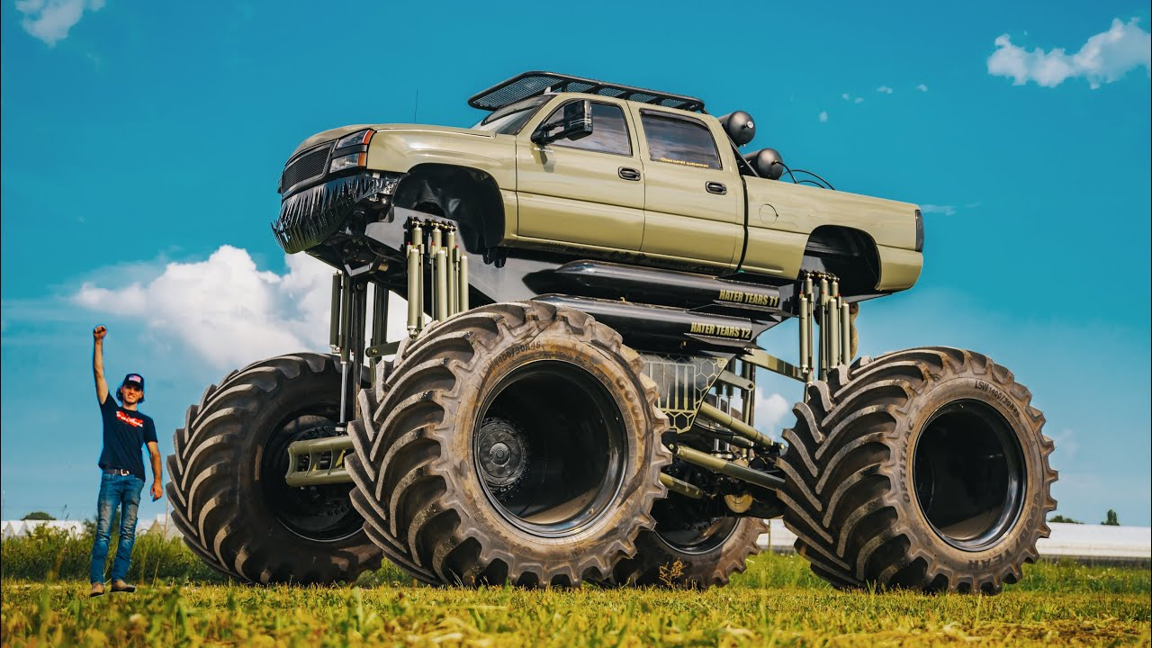 Download Introducing Monstermax 2. The Worlds Largest Truck (Twin Engine Duramax)