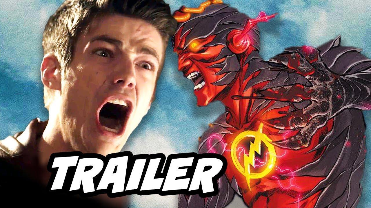 The Flash Season 3 Episode 6 Promo - Dark Flash Savitar Breakdown