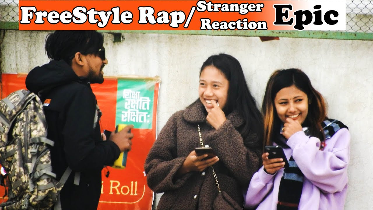 Freestyle Rap In Chitwan || Stranger Joined It || Awesome Reaction