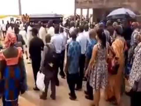 Mr. Godwin Emefiele CBN Gov's mother buried agbor video