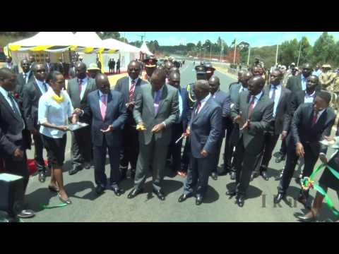 Mh Rais Magufuli Alipotembelea Kiwanda cha Maziwa na Kufungua Barabara Kuu Nchini Kenya