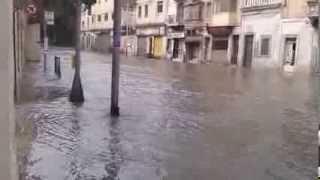 Rainy Weather In Malta (hasselin Bus Stop In Msida)