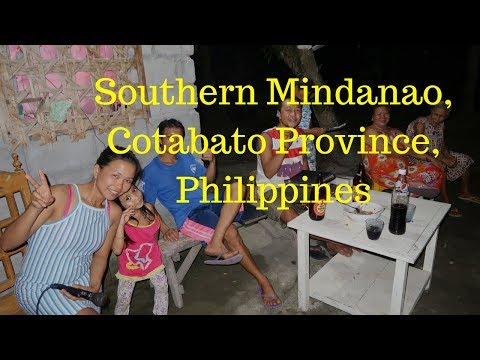 Philippines …. Fiesta, Gambling and Eating Balut in Cotabato, Mindanao