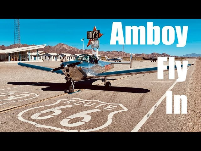 Ercoupe to Amboy Desert Fly-In