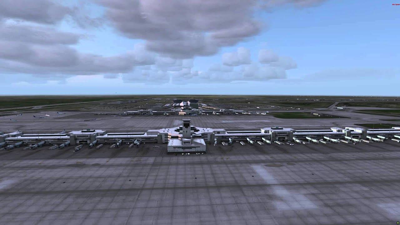 Prepar3D v2 3 - Flightbeam KDEN + Ultimate Traffic 2