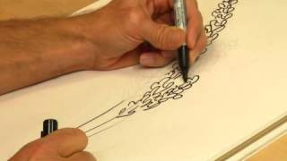 How to Draw Lavender Flowers