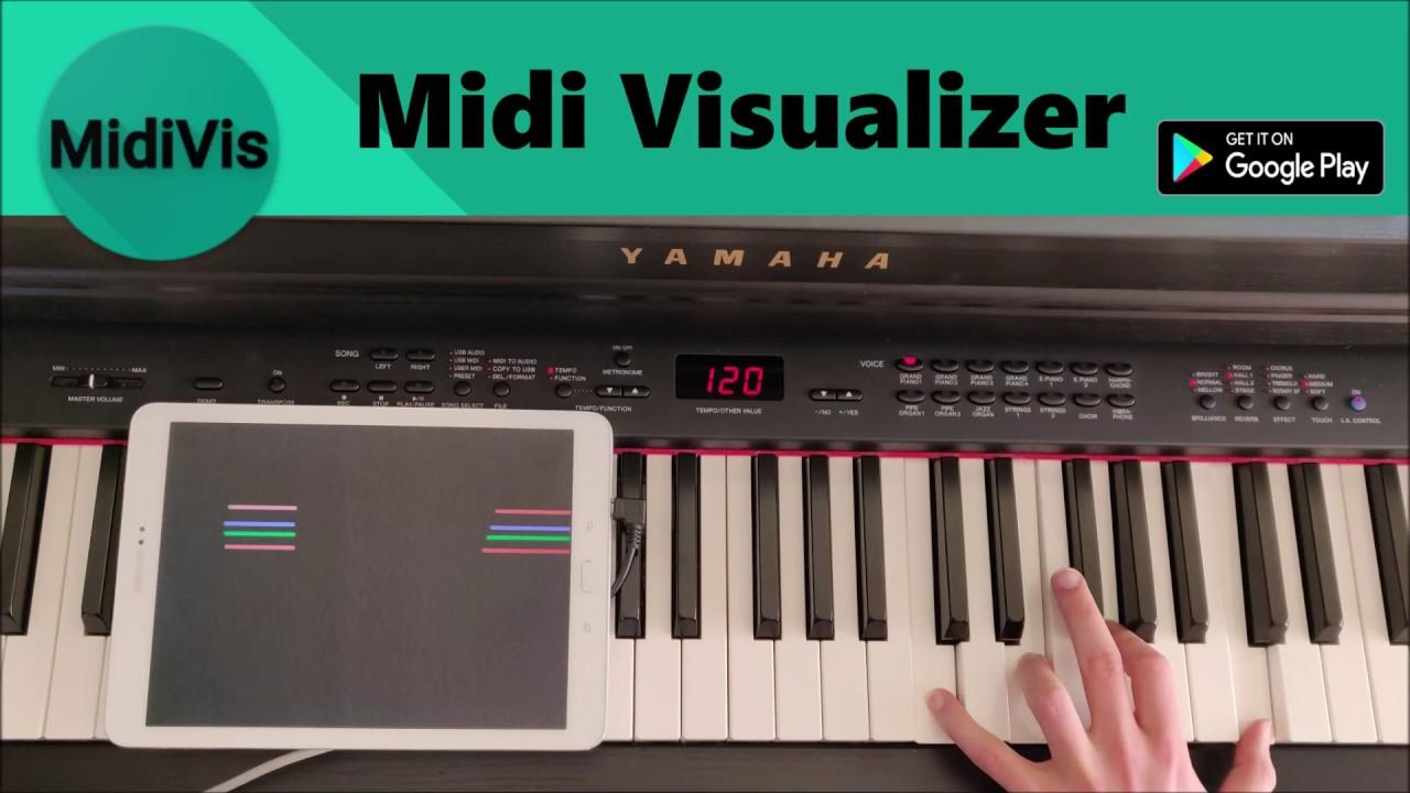 USB Midi Visualizer