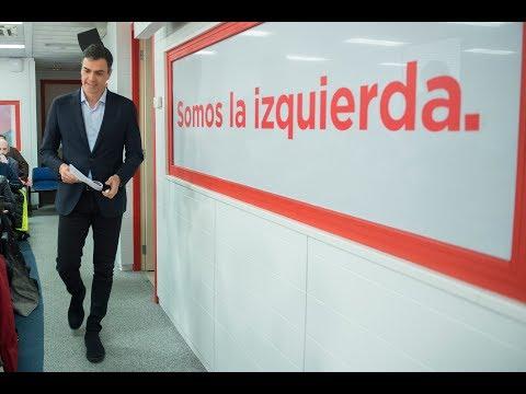 Pedro Sánchez presenta la alternativa presupuestaria del PSOE