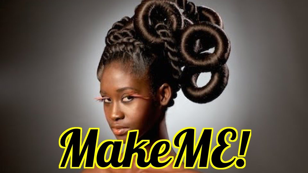 MAKEME! Nigerian DANCING Hairdressers! (Part 4)