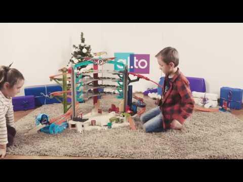 Mattel Hot Wheels Mega Garaż Małegwiazdytestują Zabawki Od św