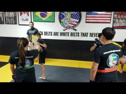 Teens Kick Boxing Drills 1