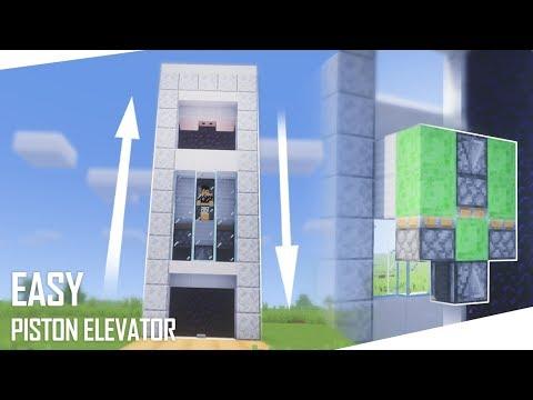 Cara Membuat Easy Piston Elevator - Minecraft Indonesia