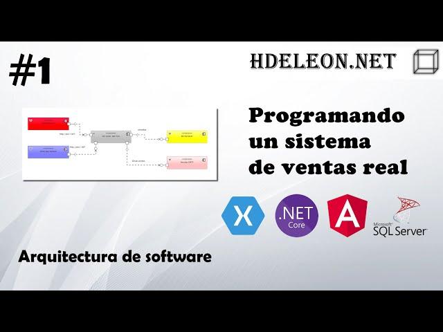 #1 Programando un sistema de ventas real | Arquitectura de Software