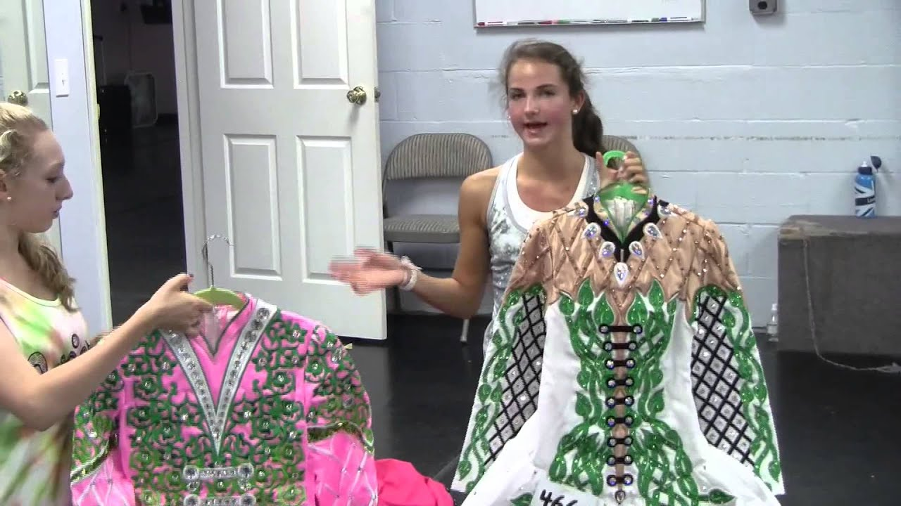 Irish Dance Costumes  sc 1 st  YouTube & Irish Dance Costumes - YouTube