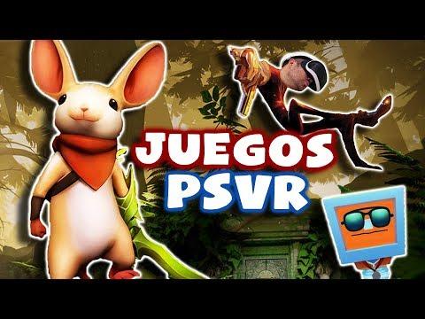JUEGOS NUEVOS DE REALIDAD VIRTUAL | PlayStation VR (PSVR en Español) (2/2)