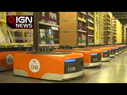 Amazon Reveals The Robots It's Using To Ship Your Packages - IGN News