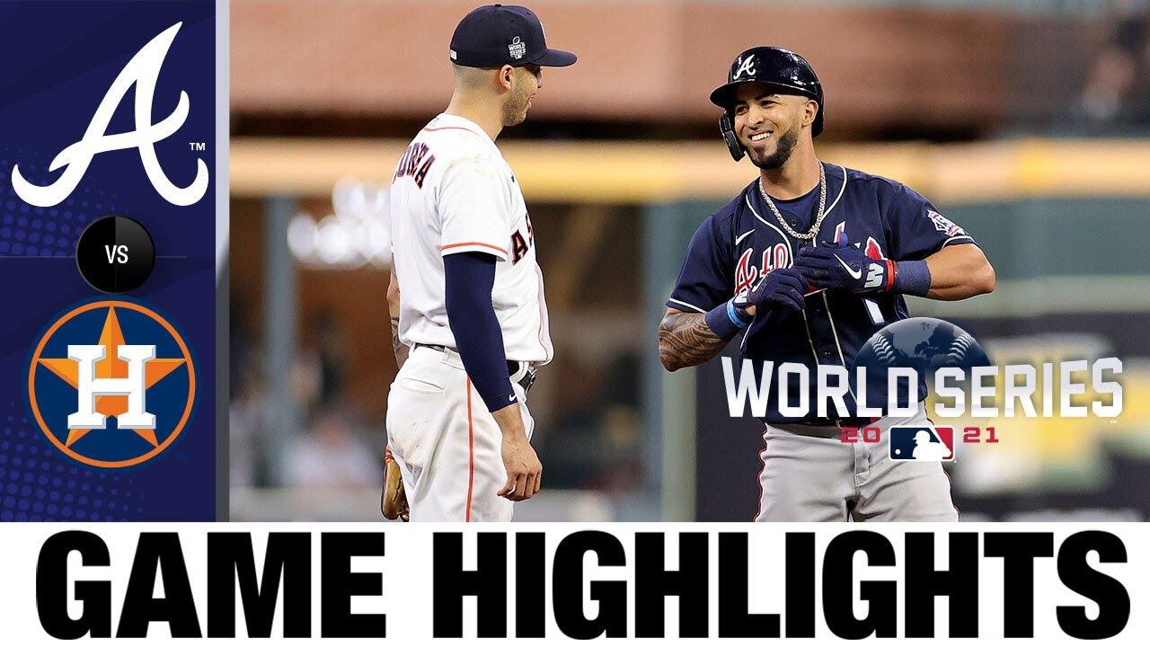 Download Braves vs. Astros World Series Game 1 Highlights (10/26/21) | MLB Highlights