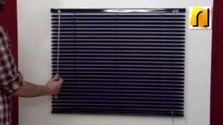 Как самостоятельно установить горизонтальные жалюзи(Как установить горизонтальные жалюзи своими руками в домашних условиях., 2014-12-19T17:16:15.000Z)