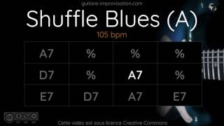 Blues Shuffle in A