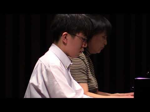 "Beethoven Piano Cencerto No.5  ""Emperor"" 1mov. for 2 pianos"