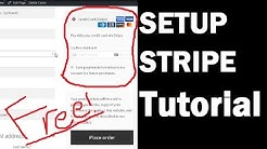 How to Setup WOOCOMMERCE STRIPE Plugin Tutorial - Accept Credit Card Payment Gateway!
