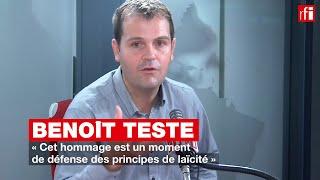 Benoît Teste : « Cet hommage est un moment de défense des principes de laïcité »