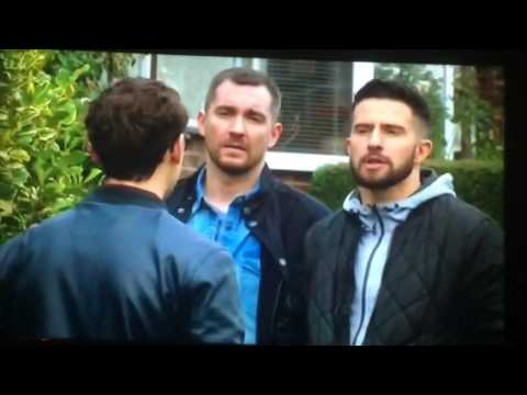 Emmerdale - Pete and Ross are suspicious that Finn is stalking Kassim