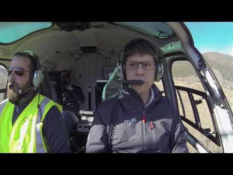 Viesgo implanta la inspección de sus líneas eléctricas en helicóptero