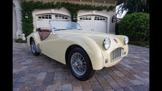1956 Triumph TR3 Roadster Review and Test Drive by Bill - Auto Europa Naples