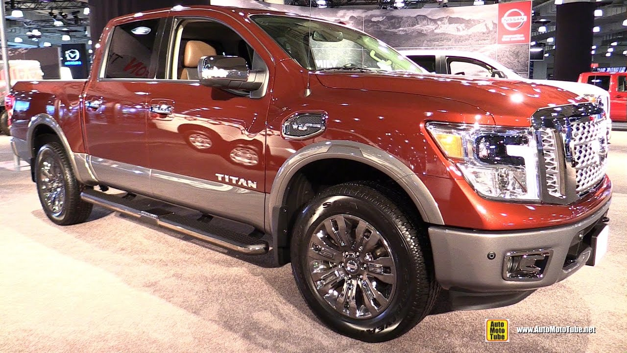 2018 nissan titan interior. modren titan 2017 nissan titan platinum reserve  exterior and interior walkaround  ny auto show throughout 2018 nissan titan interior