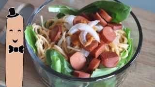 Vegan Spicy Peanut Noodle Bowl Recipe & What I Ate Wedneday