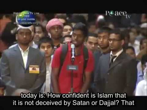 Dubai Christian Asks Dr Zakir Naik As How Confident Is Islam Not from Satan?